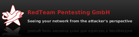 RedTeam Pentesting GmbH - seeing your network from the attacker's perspective
